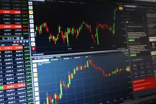 Изменение котировок акций